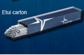Electrode Basiques BOHLER 7018-1 emballage carton